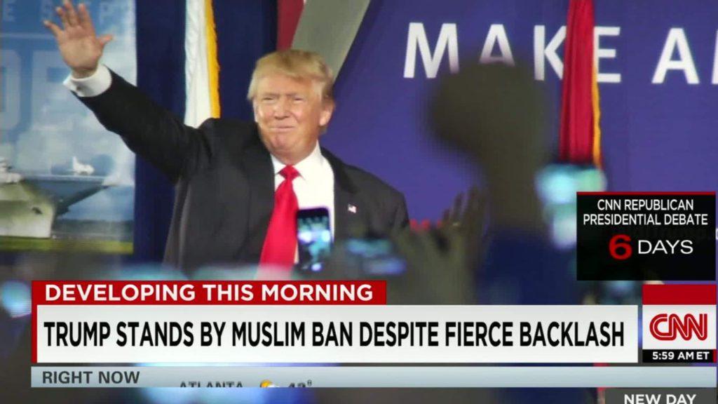 Mehdi Hasan: Keďže som muslim, ako mám svojmu dieťaťu povedať, že nový prezident nás nemá rád?