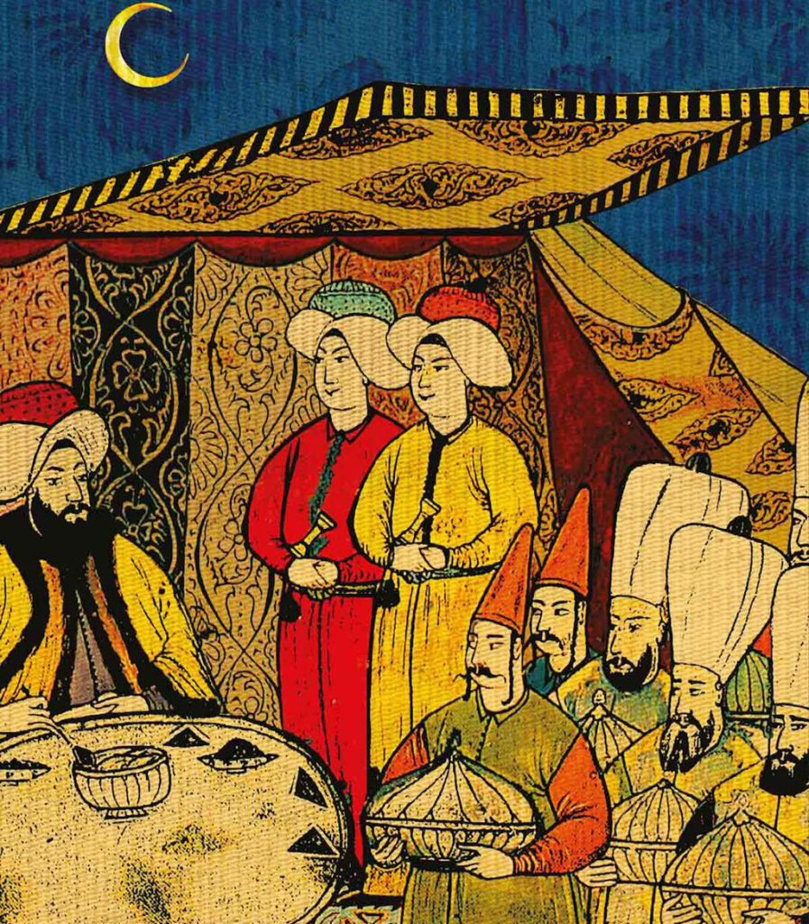 Podívejte se, jak se slavil ramadán v Osmanské říši