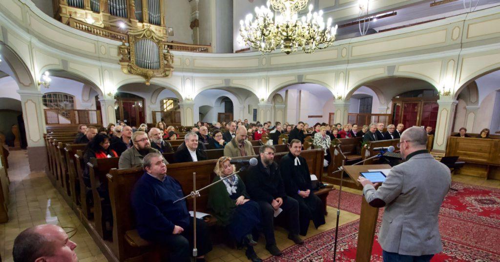 Predseda Islamskej nadácie vystúpil v Evanjelickom kostole v Banskej Bystrici