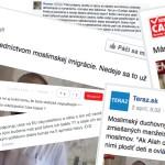 Slovenské portály komentármi na Facebooku hecujú ľudí. Niekedy jasne zavádzajú