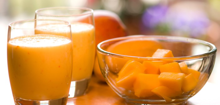 Kokosovo-mangový smoothie podľa Kaleba